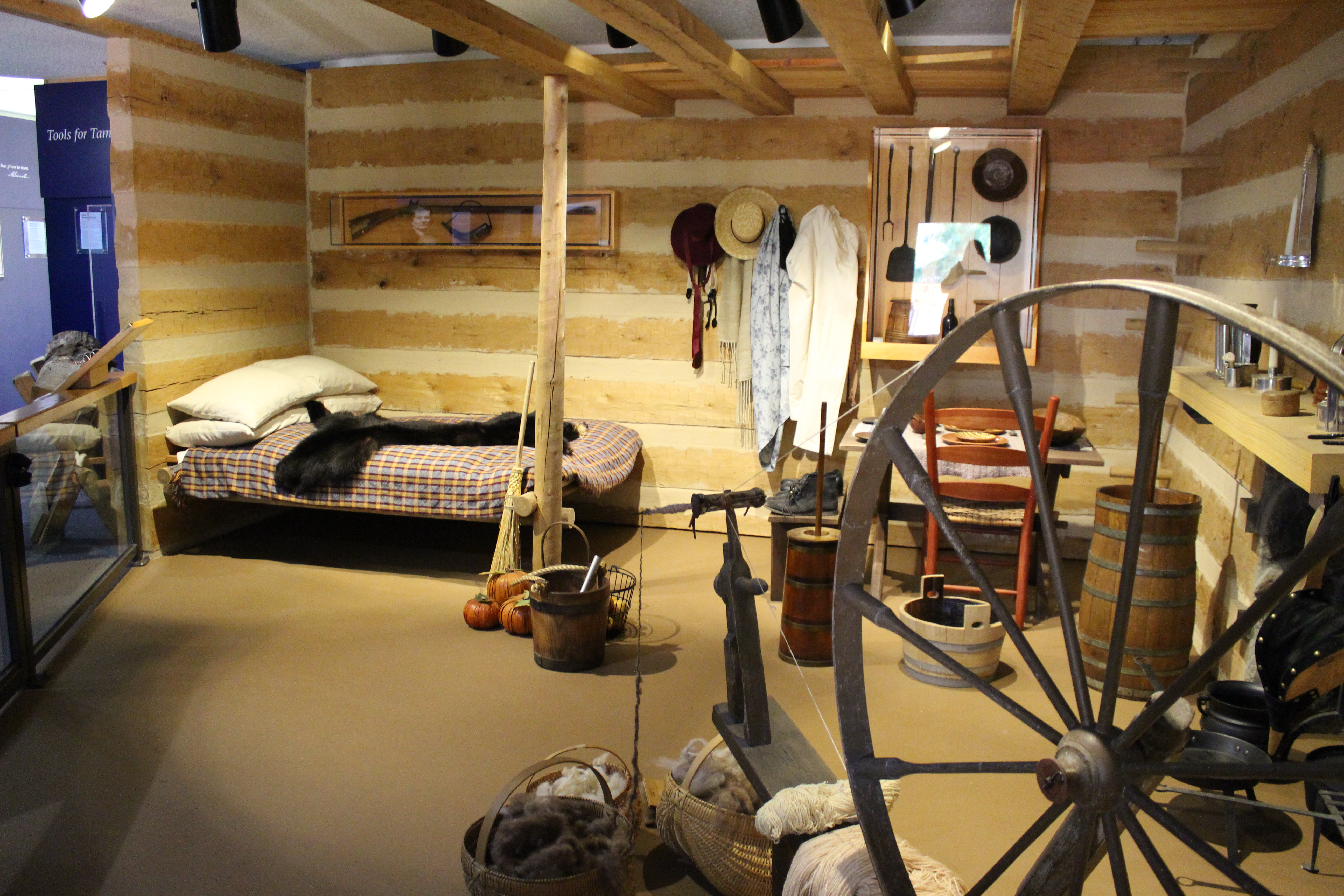 Superb img of Inside the log cabin with #9F7A2C color and 5184x3456 pixels