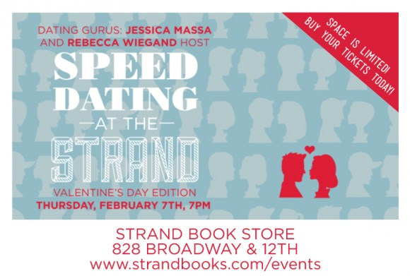 Strand bookstore speed dating
