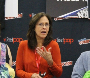 Erin Gray. I wasn't sure if I was suppose to take her so I took it then ran away.