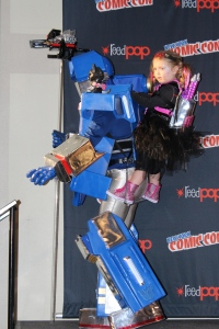 Built his daughter a holder so she could be an attached Autobot