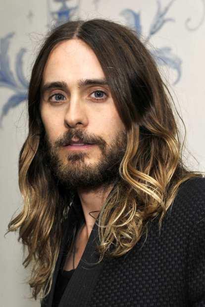leto long hair