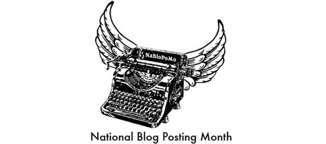 It's National Blog Posting Month! (1/4)